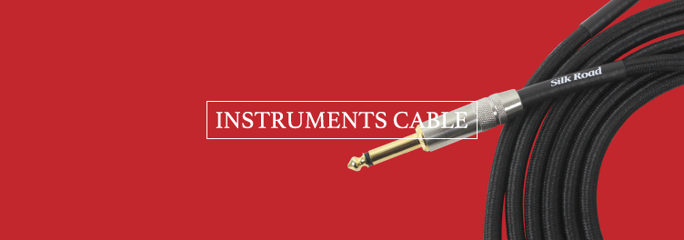 instruments cable・楽器用ケーブル