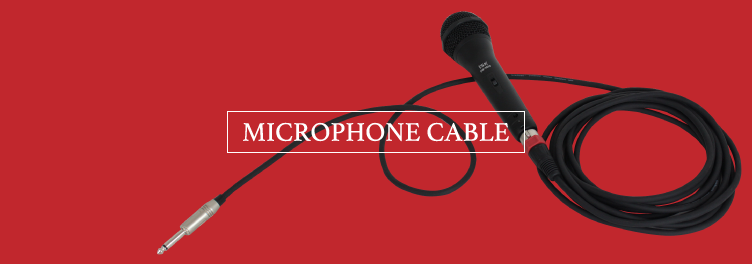microphone cable・マイクケーブル